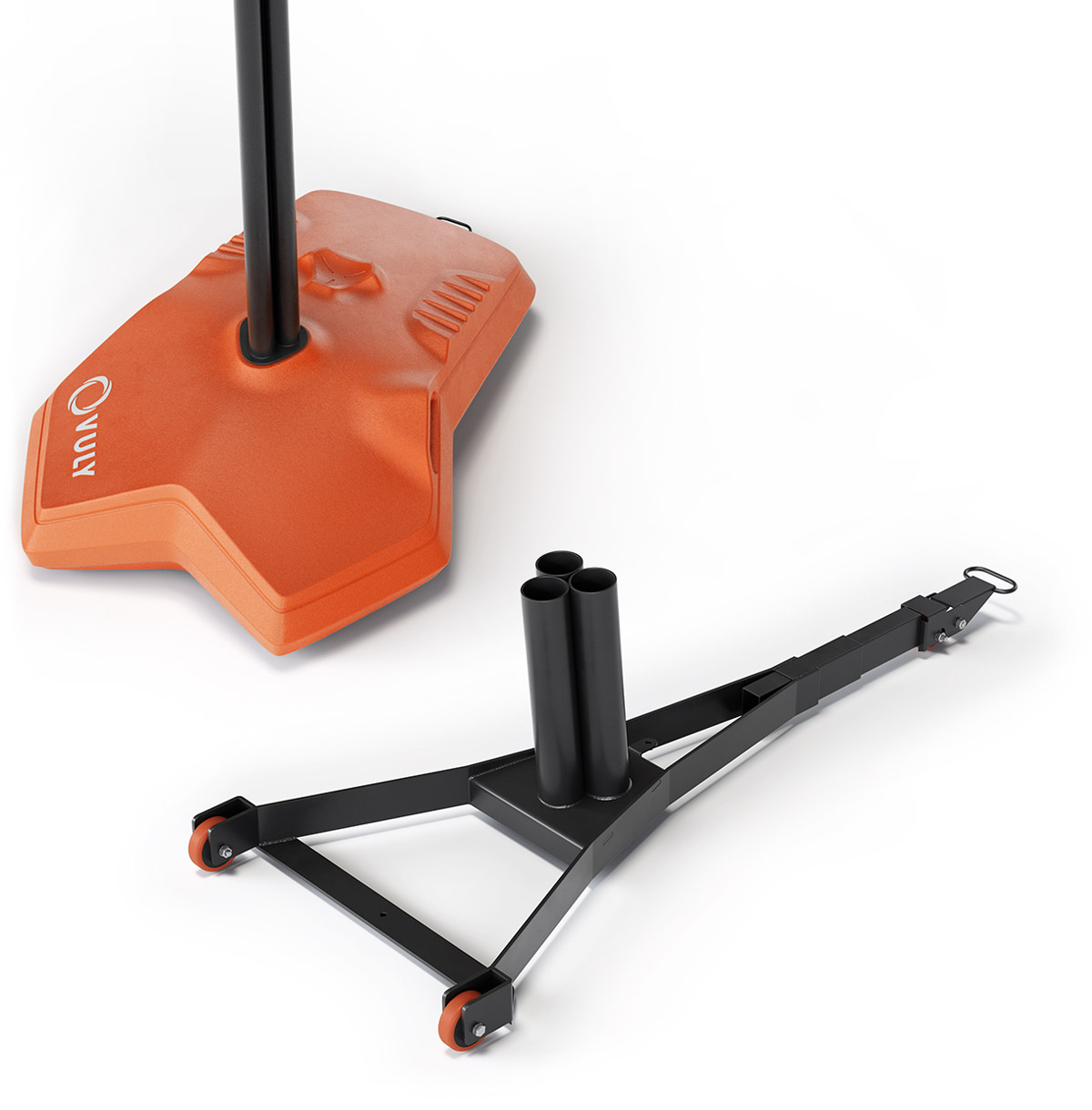 Slam Pro's unique one-piece steel chassis makes it more robust and stable than any other system.
