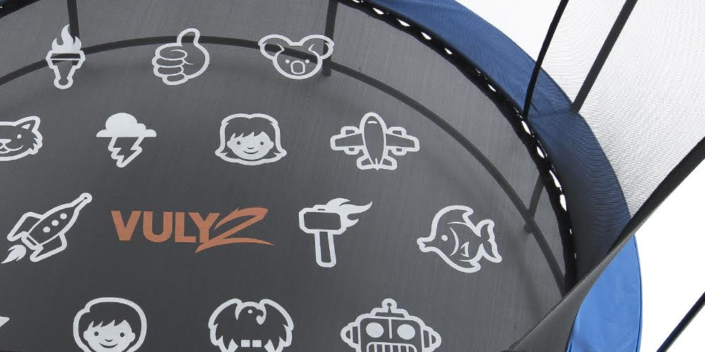Up close picture of trampoline mat from Vuly