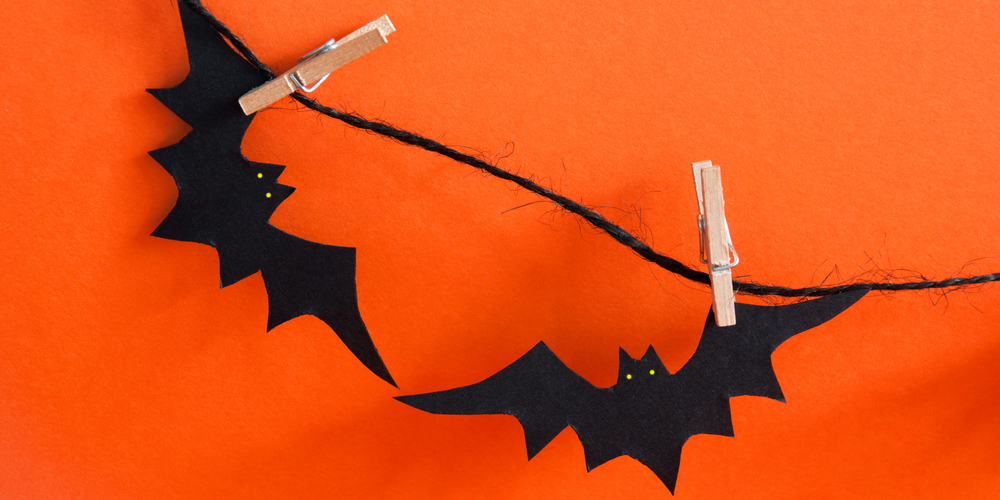 Bat Halloween decorations