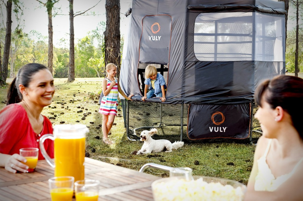 Vuly Deluxe Trampoline Tent.
