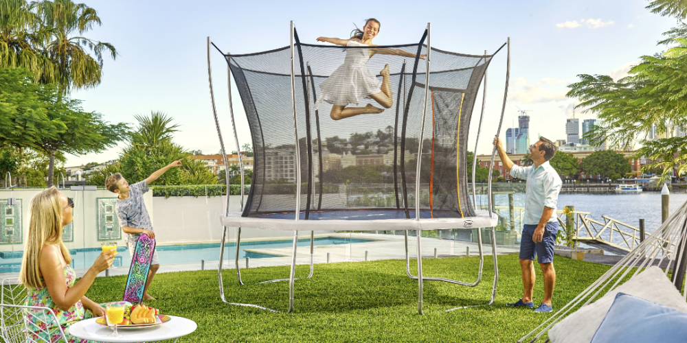 Ultra - The trampoline for every family