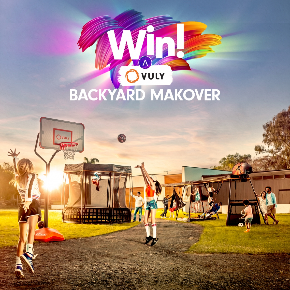 Win a Backyard Makeover competition