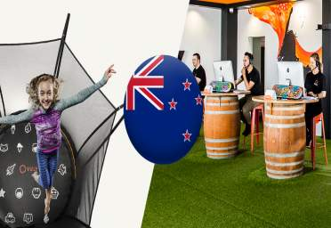 Vuly trampolines in New Zealand