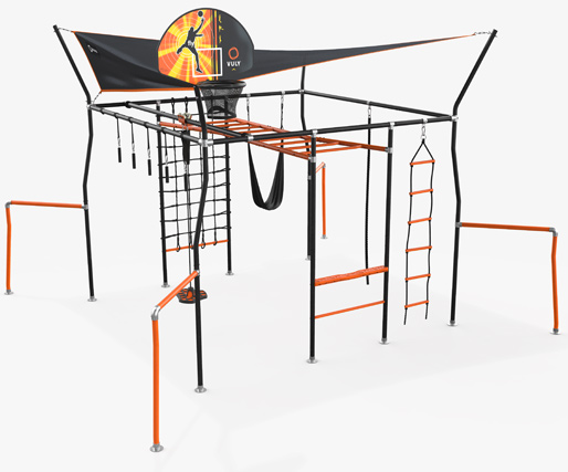 Vuly Play Adventure Quest Climbing Frame