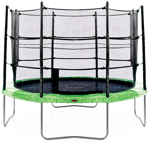 Customer reviews of the Classic trampoline.