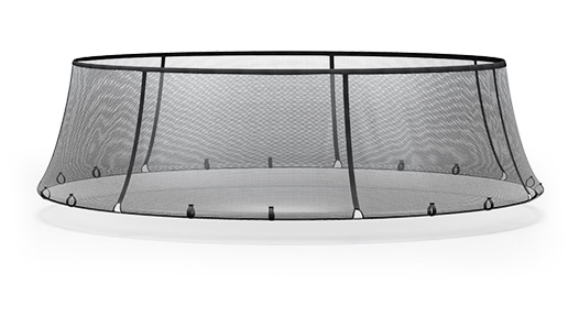 Prevent injuries around or beneath your Vuly trampoline.