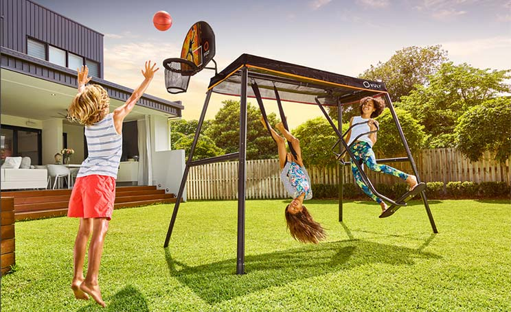 Vuly 360 Pro swing set is the strongest and safest outdoor swing set.