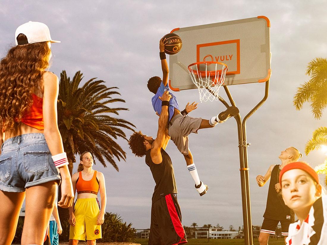 Vuly's amazing basketball set.