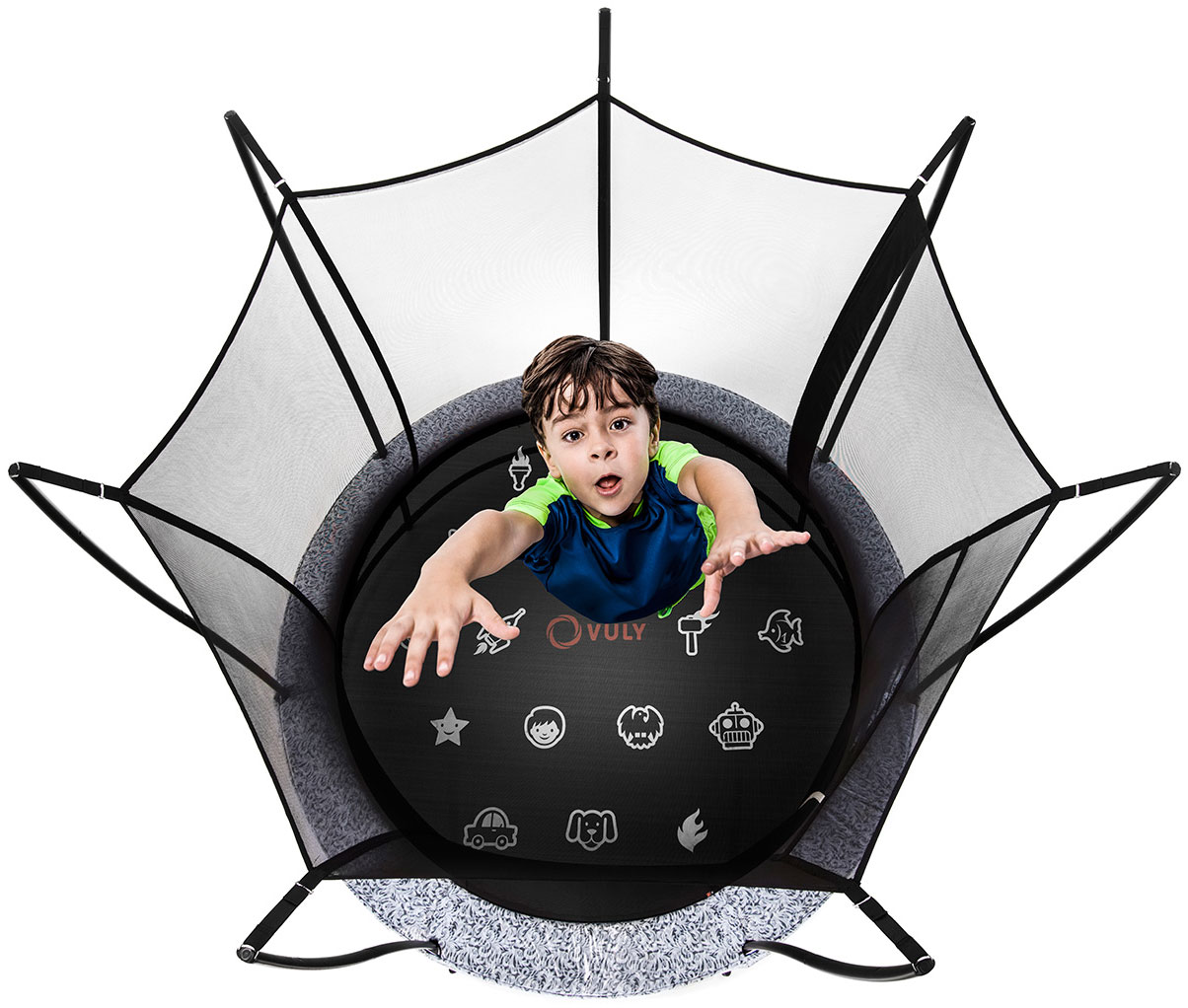 Take you trampoline home with you instantly.