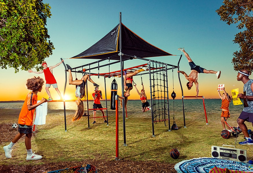 Promotion on Monkey Bars
