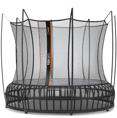 Vuly takes another leap into the future with our Thunder Pro trampoline.