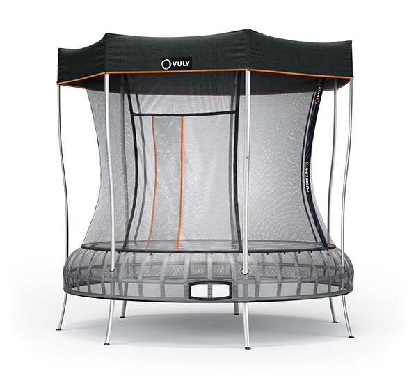 Thunder Trampoline with Shade Cover
