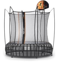 Thunder Pro Trampoline with Bball attachment.