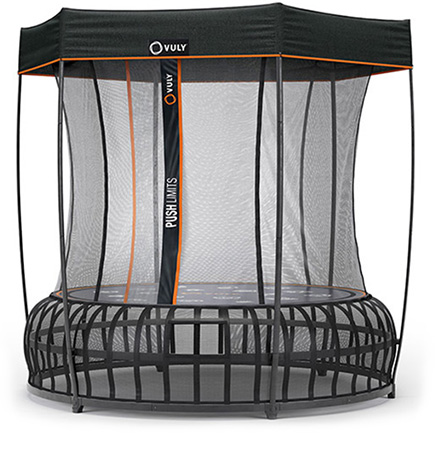 Thunder Pro Trampoline with Shade Cover
