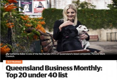 Queensland Business Monthly: Top 20 under 40 list
