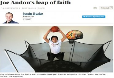 Joe Andon's leap of faith