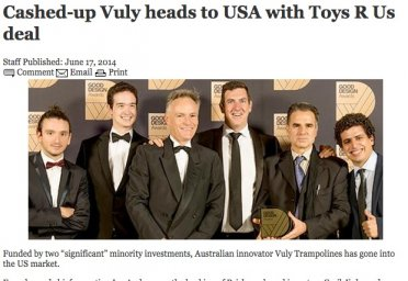 Cashed-up Vuly heads to USA with Toys R Us deal