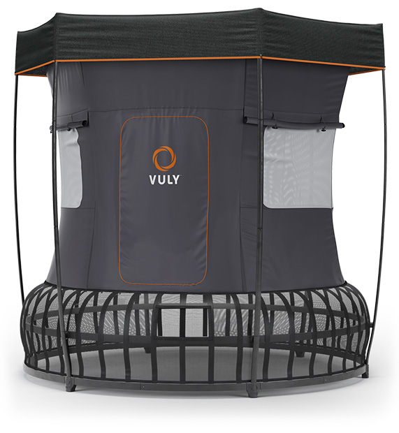 Vuly's trampoline tent is back!