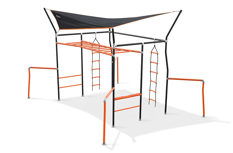 Climbing Ladder on Vuly Quest monkey bars