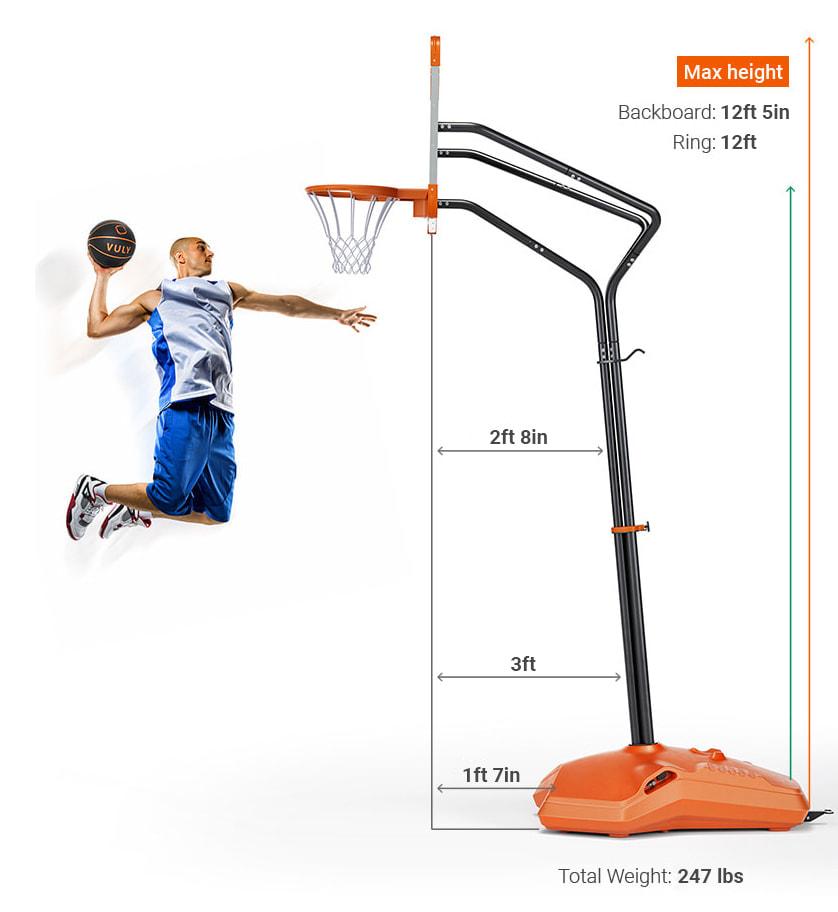 Basketball Hoops Slam Pro Basketball Hoop Vuly Play Us