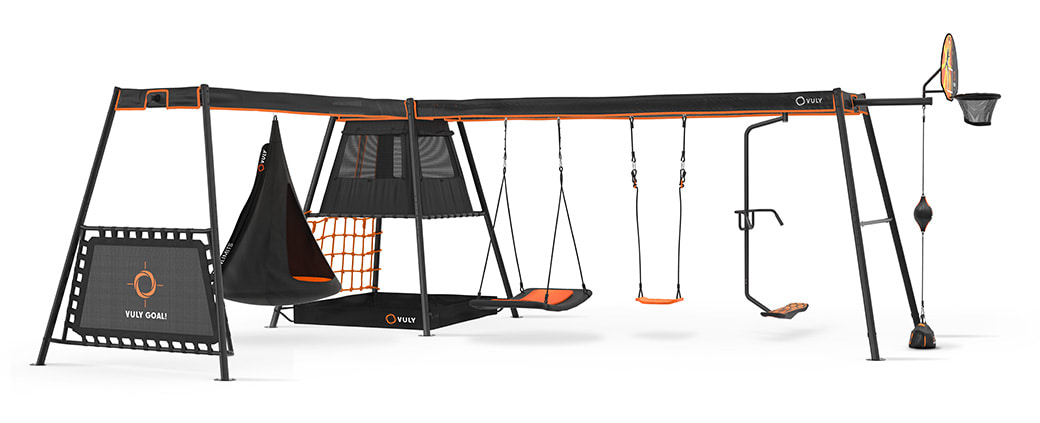 Max Swing Set L Shape