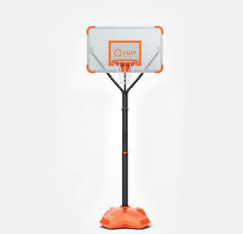 Basketball hoop backyard play equipment for kids