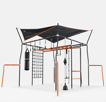Monkey bar kids outdoor play equipment