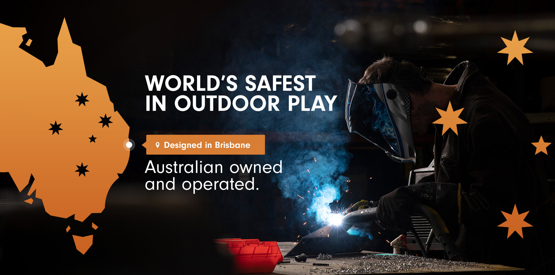 World's safest in outdoor play