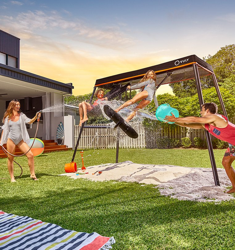 Free shade cover with every swing set & Vuly Trampolines Australia - Buy a Trampoline u0026 Play Equipment