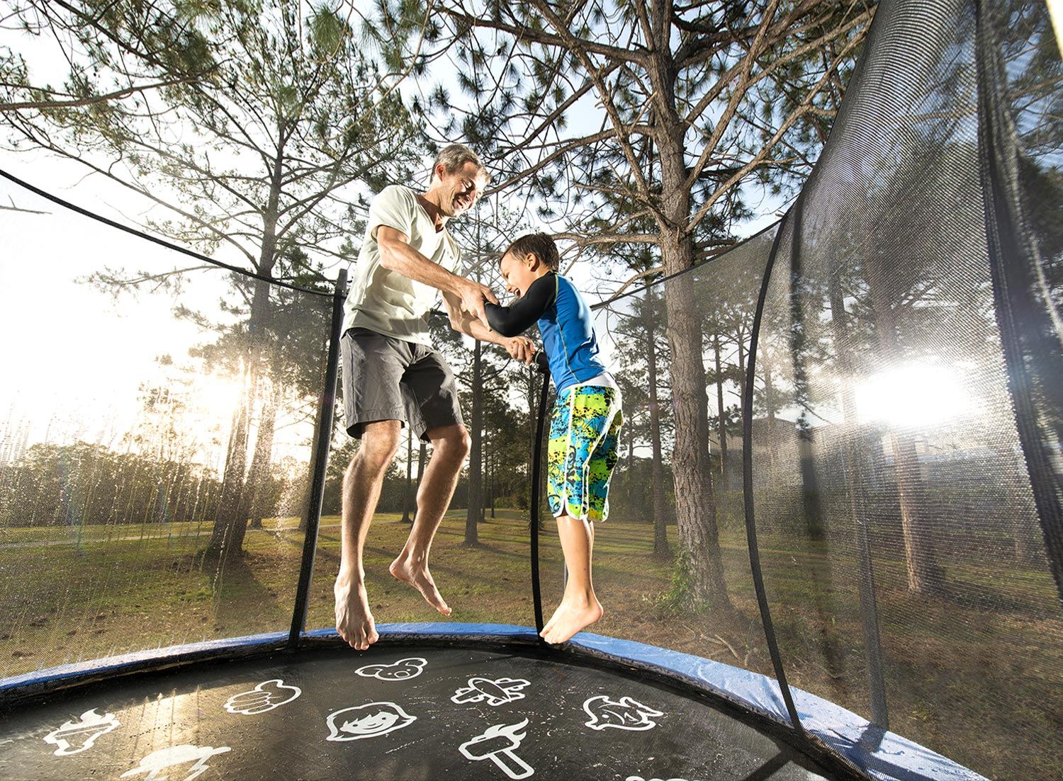 Vuly Mister - The only way to stay cool on your Vuly trampoline.