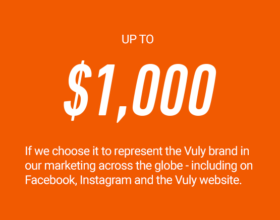 Let us share your Vuly life!