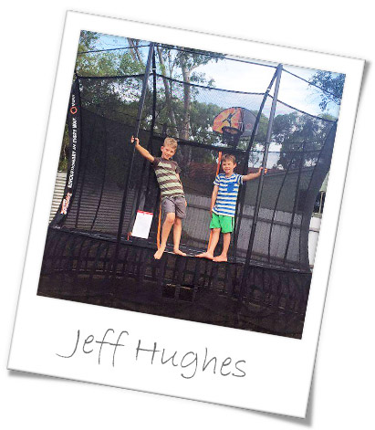 Read Jeff's Thunder Summer Trampoline review.