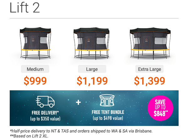 Vuly's Lift 2 - on special now. Save up to $848