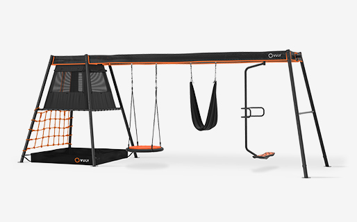 Max C3 + 3 swings (spin,yoga,nest) with sping, yoga and nest swings