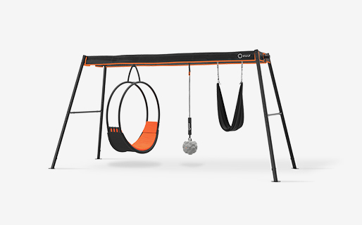 Max Large Swingset (Ring, Yoga, Wrecking) with Ring, Yoga & Wrecking swings