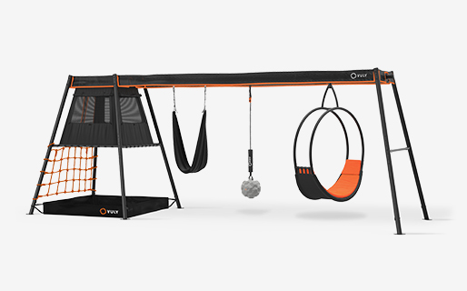 Max C3 (Ring, Yoga, Wrecking) with Ring, Yoga & Wrecking swings