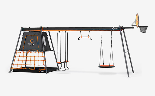 C3 Mini with seesaw, monkey & nest swings