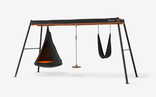 Max - large swingset (Cubby,Bounce, Yoga)