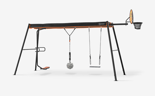 Max Large Swingset +3 Swings (spin,wrecking,seat)