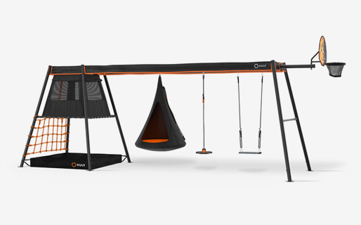 Max C3 +3 swings (Cubby,bounce,classic seat)