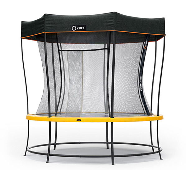 Medium Trampoline with Shade Cover