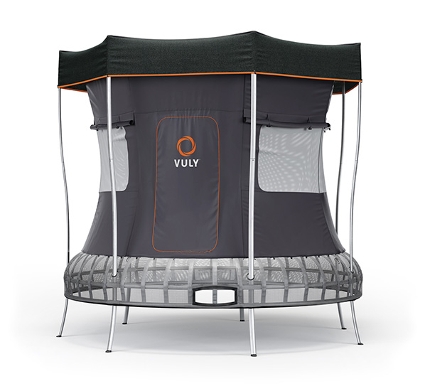 Medium Trampoline with Tent bundle