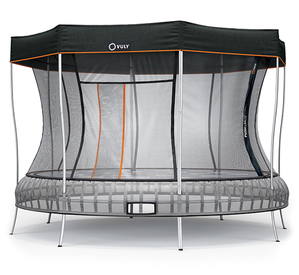 Extra Large Trampoline with Shade Cover