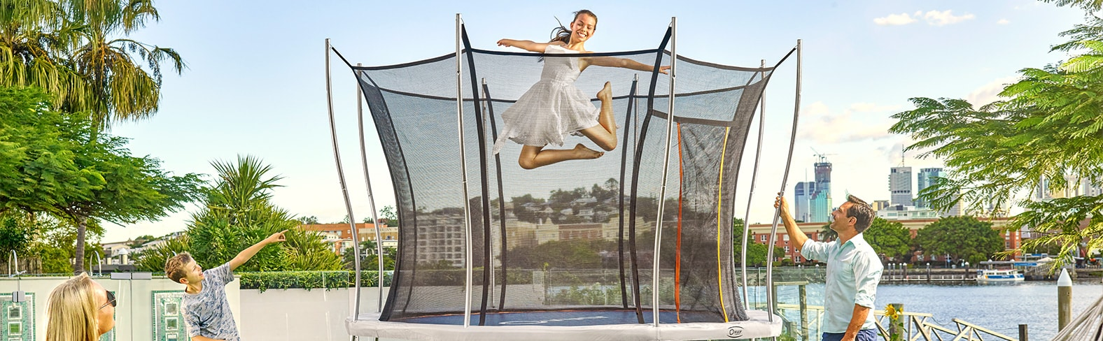 Ultra is our most affordable trampoline ever.