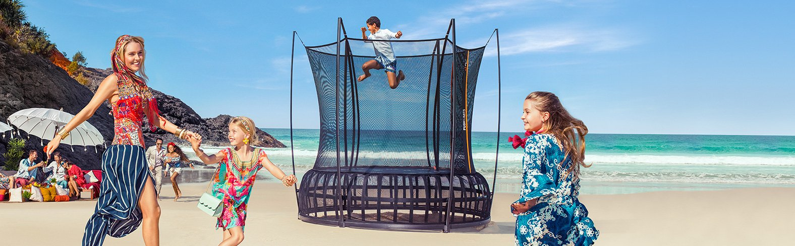 The Thunder Pro trampoline represents the ultimate bounce.